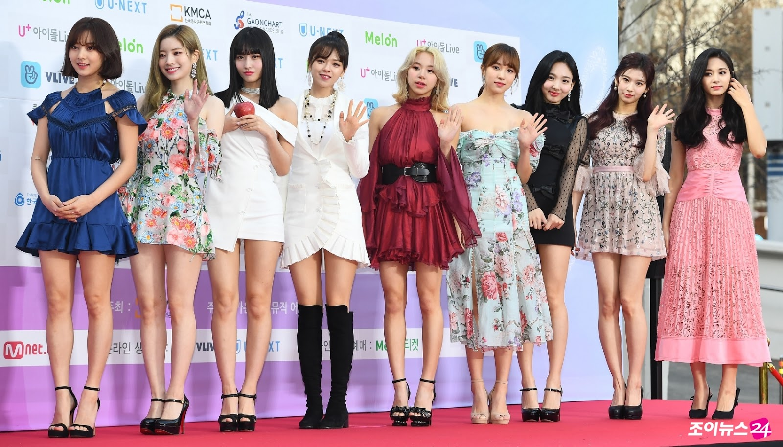TWICE's Momo Appears at the Gaon Chart Music Awards with an