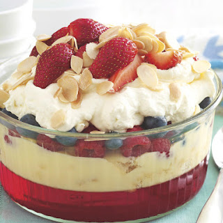 Summer Berry Trifle.