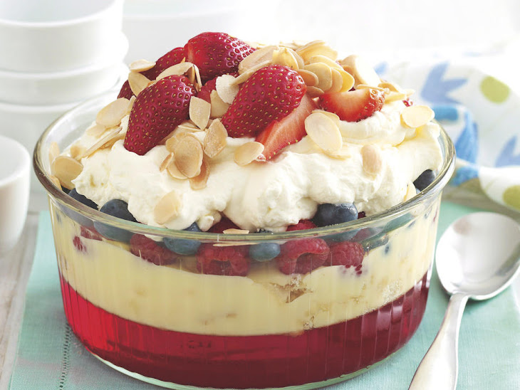 Summer Berry Trifle Recipe | Yummly