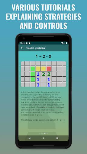 Guess-Free Mines: a minesweeper-type game ss3