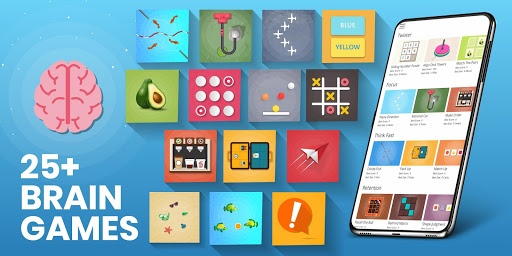 Brain Games For Adults & Kids - Brain Training apktram screenshots 1