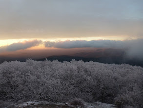 Photo: Sunrise from Blood Mtn.