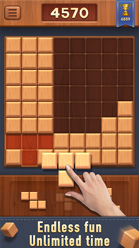 Block of Wood - Classic Puzzle Game apkpoly screenshots 4