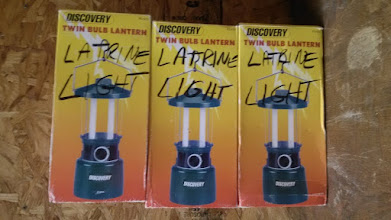 Photo: Lights for latrines