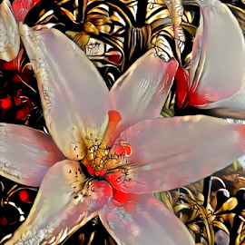 Lilies 7 by Cassy 67 - Digital Art Things