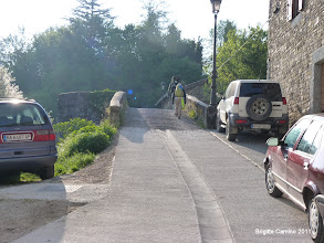Photo: Le pont sur le Rio Arga