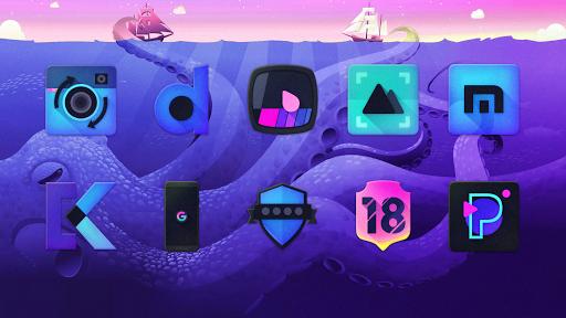 Screenshot for Kraken - Dark Icon Pack in United States Play Store