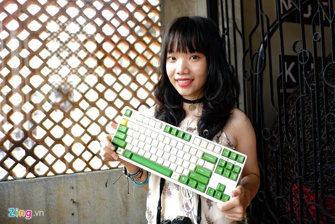 Những mẫu bàn phím cơ độc lạ tụ họp ở Sài Gòn