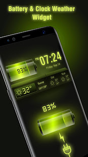 Weather Forecast Widget with Battery and Clock APK image thumbnail 0