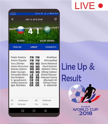 Score & Schedule : World Cup 2018 1.5 screenshots 5
