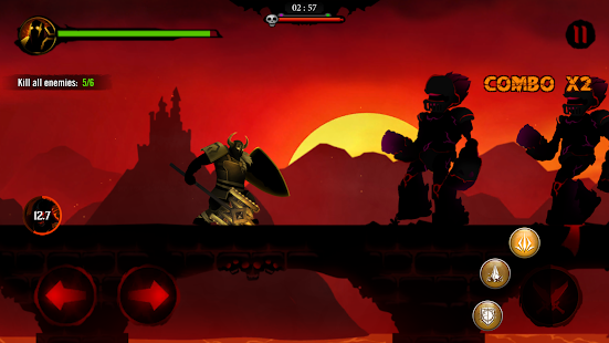 Shadow Stickman: Dark rising – Ninja warriors- screenshot thumbnail