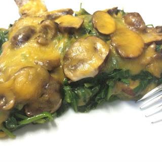 Spinach and Mushroom Layered Casserole