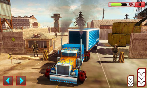 Heavy Truck Robot Giant Truck Driver Simulator 9 screenshots 2