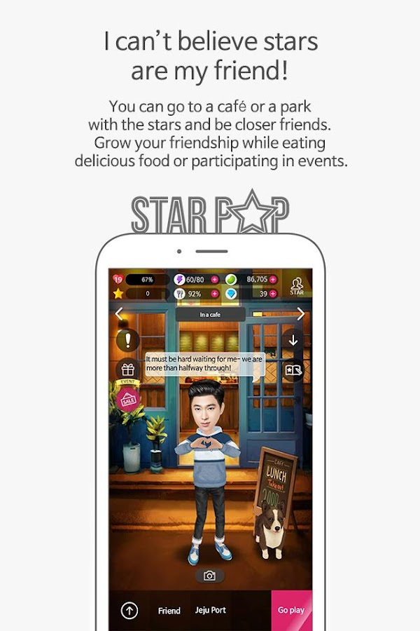 STARPOP - Stars in my palms- screenshot