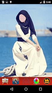 Hijab Abaya Selfie - náhled