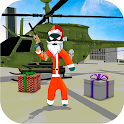 Santa Stickman Rope Hero: Gangster Crime Simulator icon