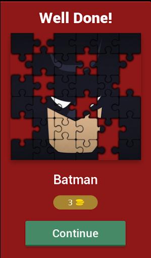 Guess Name That Superhero Puzzle Quiz  captures d'écran 2