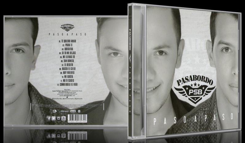 Pasabordo - Paso A Paso (2013) [MP3 @320 Kbps]
