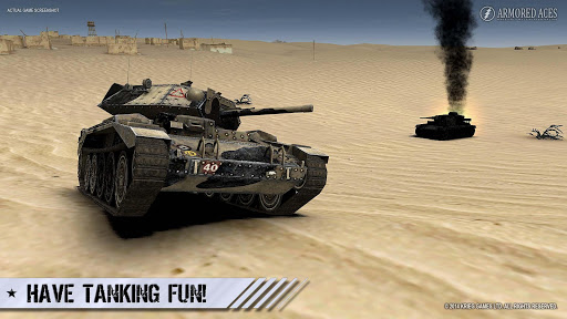 Armored Aces - 3D Tank War Online 3.0.3 screenshots 13
