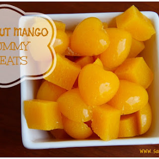 Coconut Mango Gummy Snacks