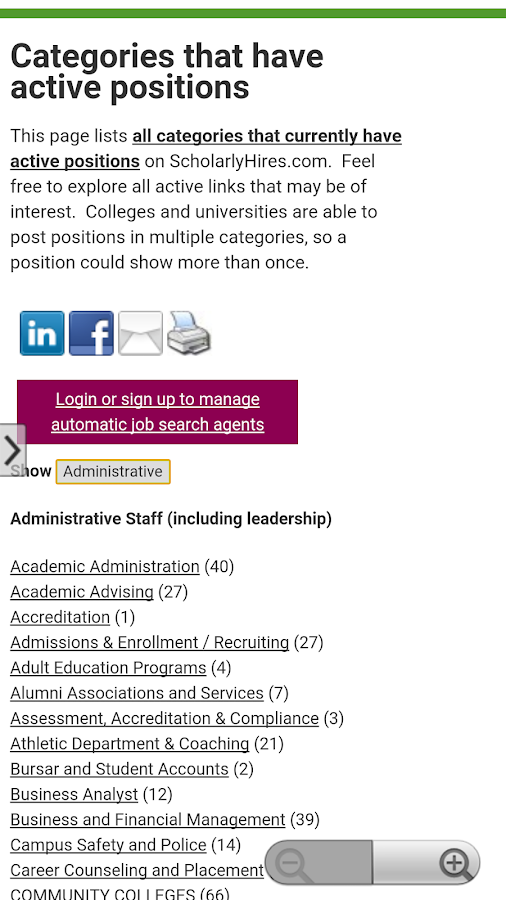 Scholarly Hires- screenshot