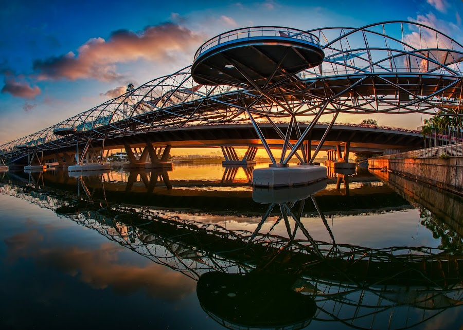 Sunrise Helix by Edward Adios - Buildings & Architecture Bridges & Suspended Structures