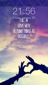Love Quotes Wallpapers Locker screenshot 0