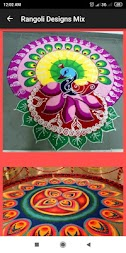 Rangoli Design Dewali 2019 Images Free APK screenshot thumbnail 4