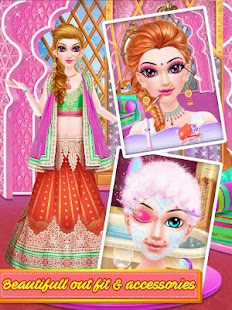 Indian Makeup and Dressup- gambar mini screenshot