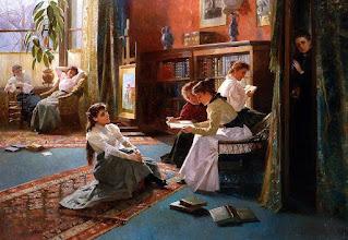 """Photo: Alexander Mark Rossi, """"Libri proibiti"""" (1897)"""