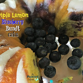 Take-out Tuesday, Triple Lemon Blueberry Bundt Cake.