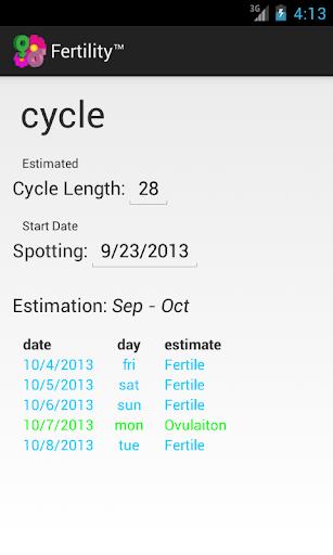 Fertility™ screenshot 1