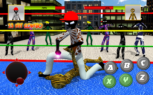 Stickman Wrestling 2.1 screenshots 8