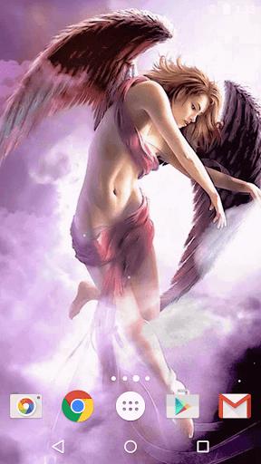 天使ライブ壁紙