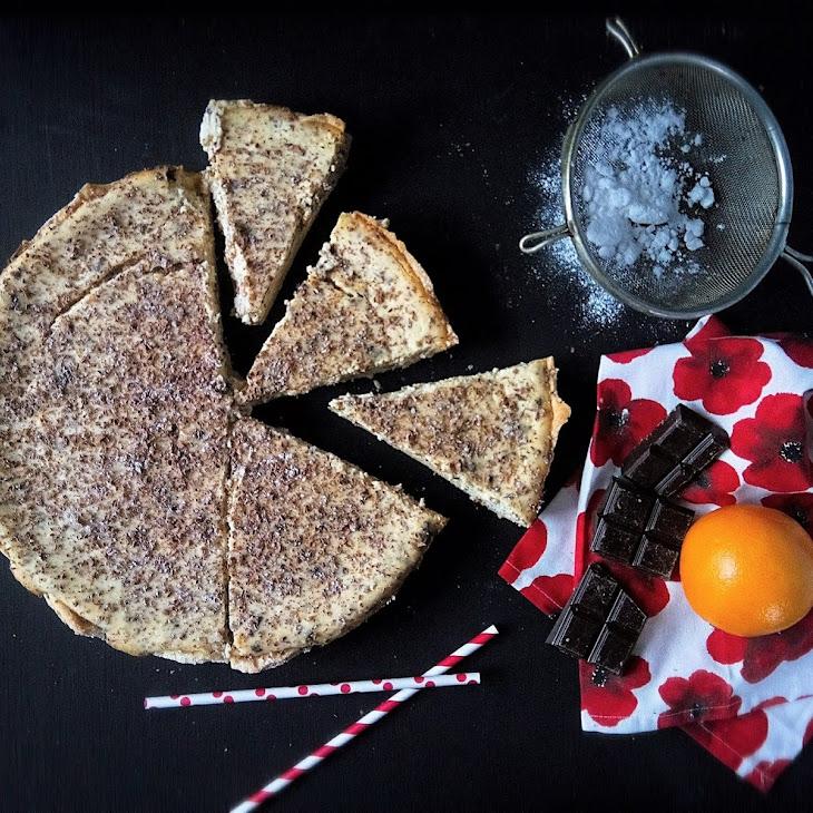 Tart With Ricotta, Orange And Chocolate