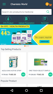 ChemistsWorld - Find OTC & Prescribed Medicines- screenshot thumbnail