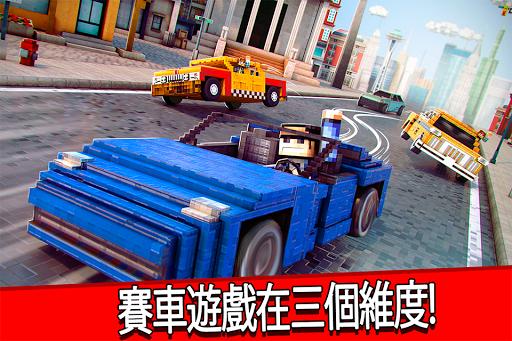 魔方世界 賽車 遊戲 :D 像素 車遊戲 賽 比賽 我的世界