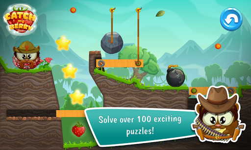 Catch My Berry: Physics Puzzle Screenshot