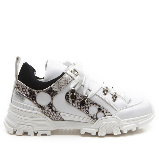 Primary image of Step2wo Becky - Snakeskin Trainer