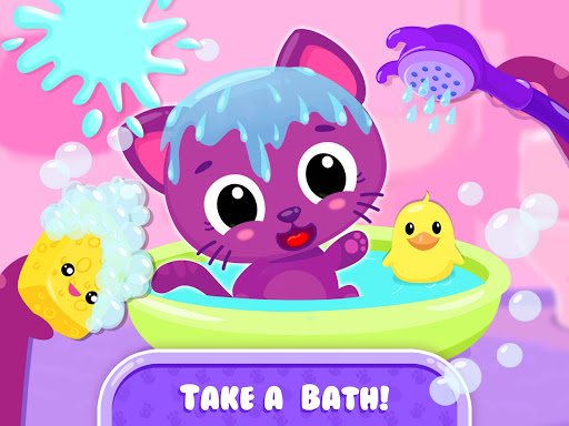 Cute & Tiny Baby Care - My Pet Kitty, Bunny, Puppy - screenshot