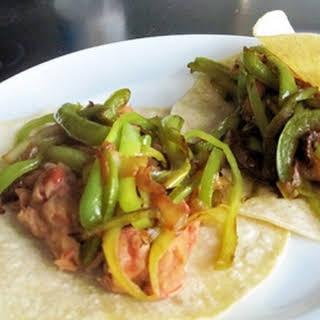 Pinto Bean Chipotle Tacos.