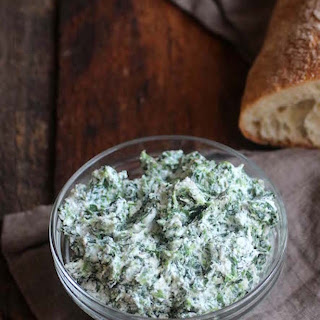 Healthy Spinach and Ricotta Cheese Spread Recipe