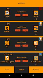 Betting Simulator App