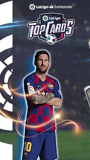 Télécharger LaLiga Top Cards 2020 - Jeu de cartes de football APK MOD (Astuce) screenshots 1