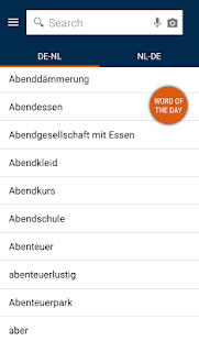 German<>Dutch Mini Dictionary- screenshot thumbnail