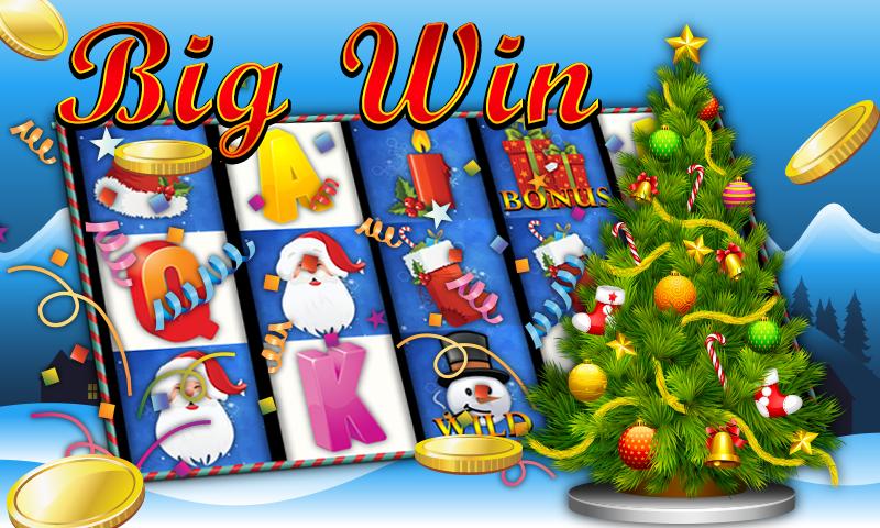 android Slot Machine Christmas Jackpot Screenshot 0
