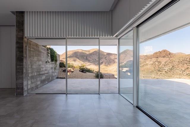 Interior de la vivienda. Imágenes cedidas por el arquitecto.