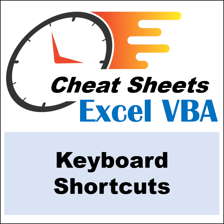 Excel VBA Cheat Sheets - Blog Landing Page