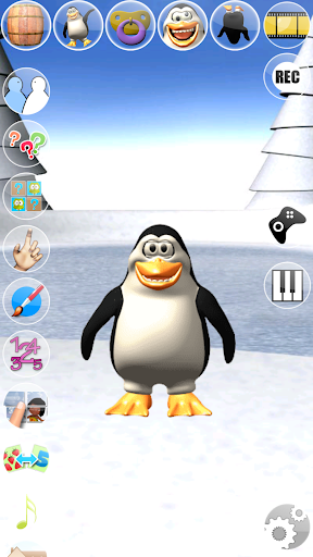Sweet Little Talking Penguin apkpoly screenshots 4