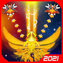 Sky Champ: Galaxy Space Shooter, Monster Evolve icon